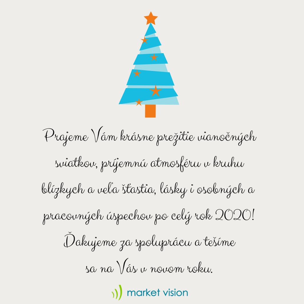 Veselé Vianoce a šťastný nový rok!